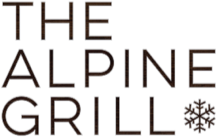 The alpine grill logo