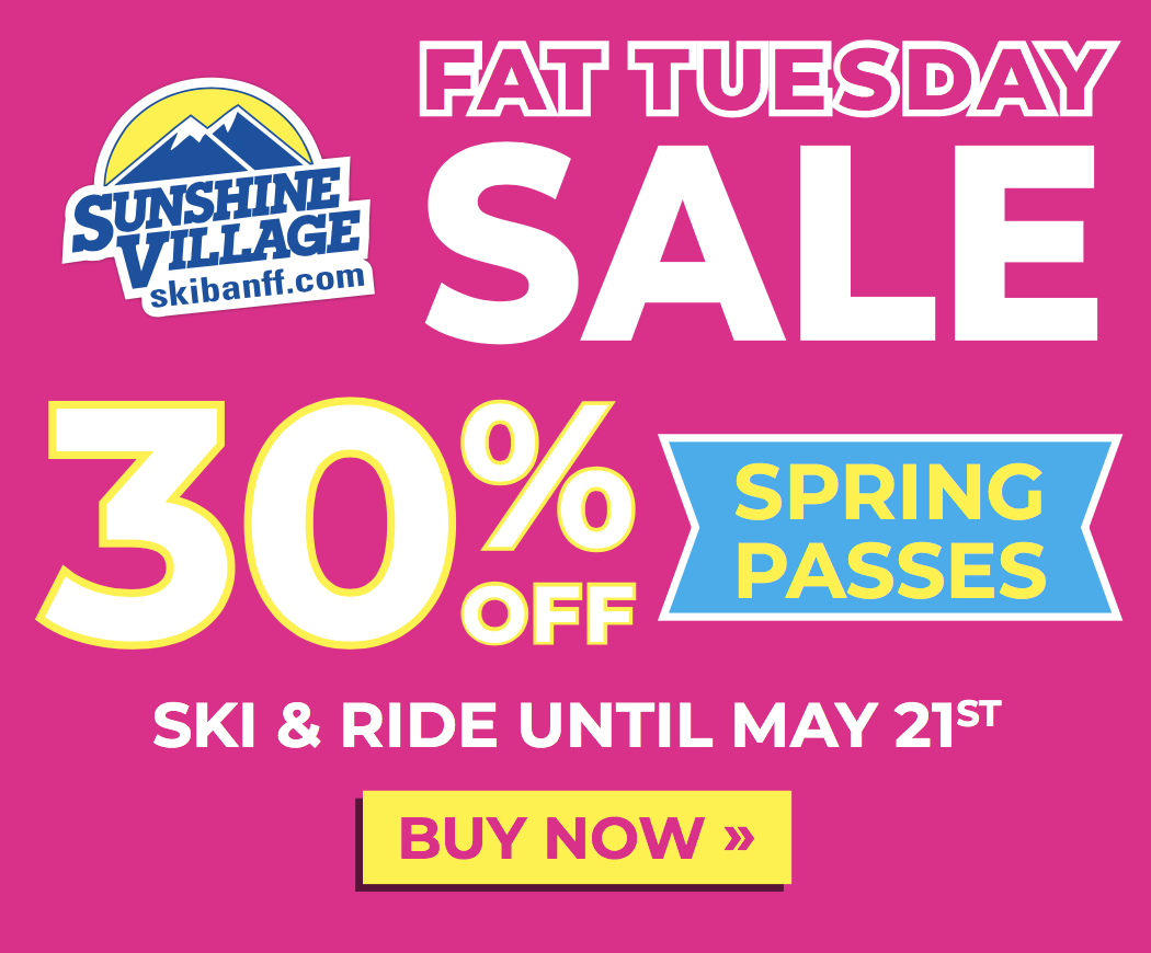Save 30% Off Your Banff Sunshine Spring Pass! Hero thumbnail