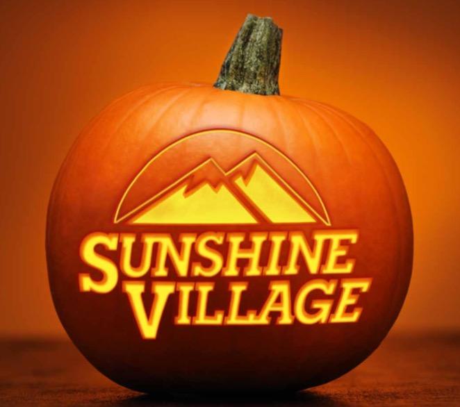 Spook shine pumpkin carvings sunshine village