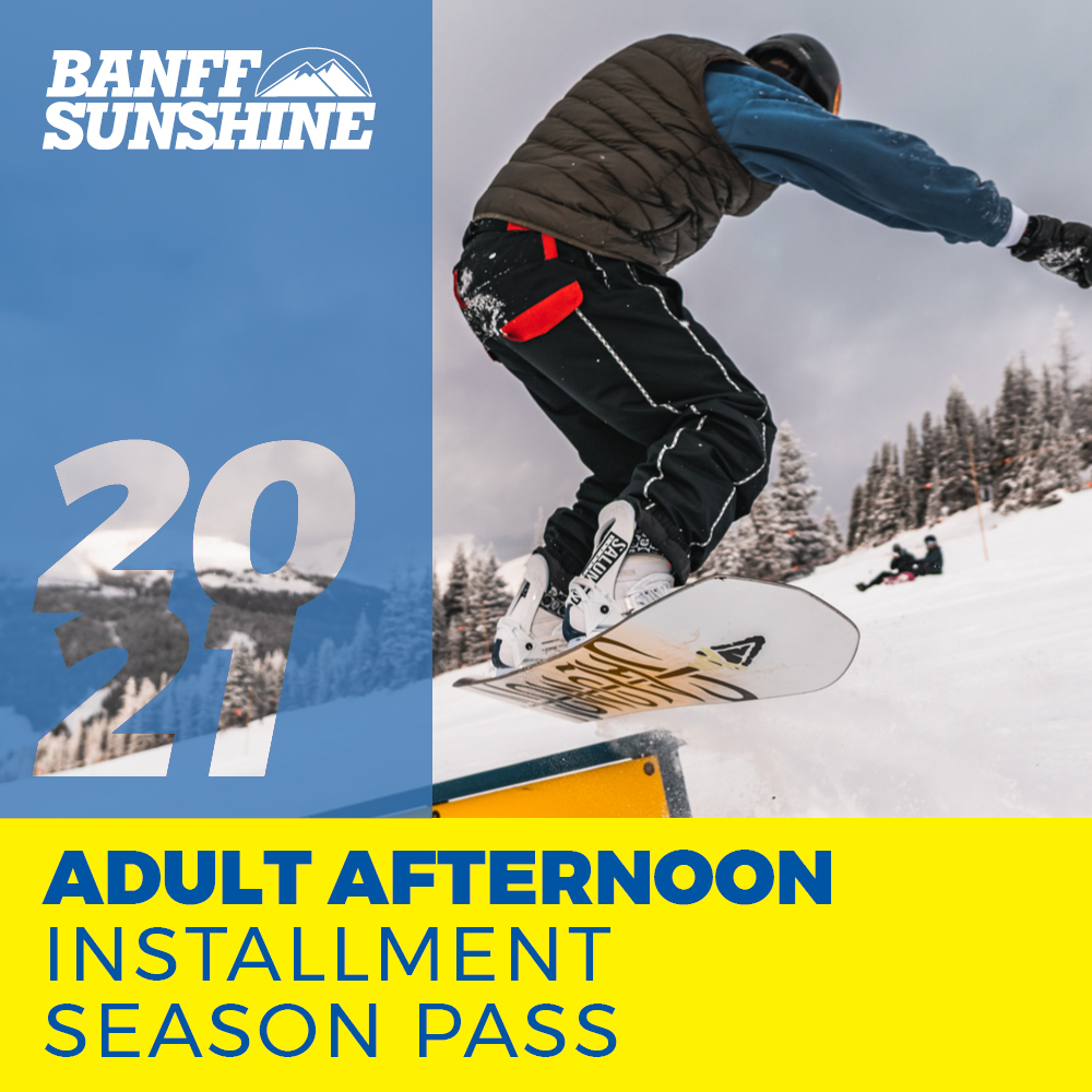 Adult Afternoon Installment Season Pass