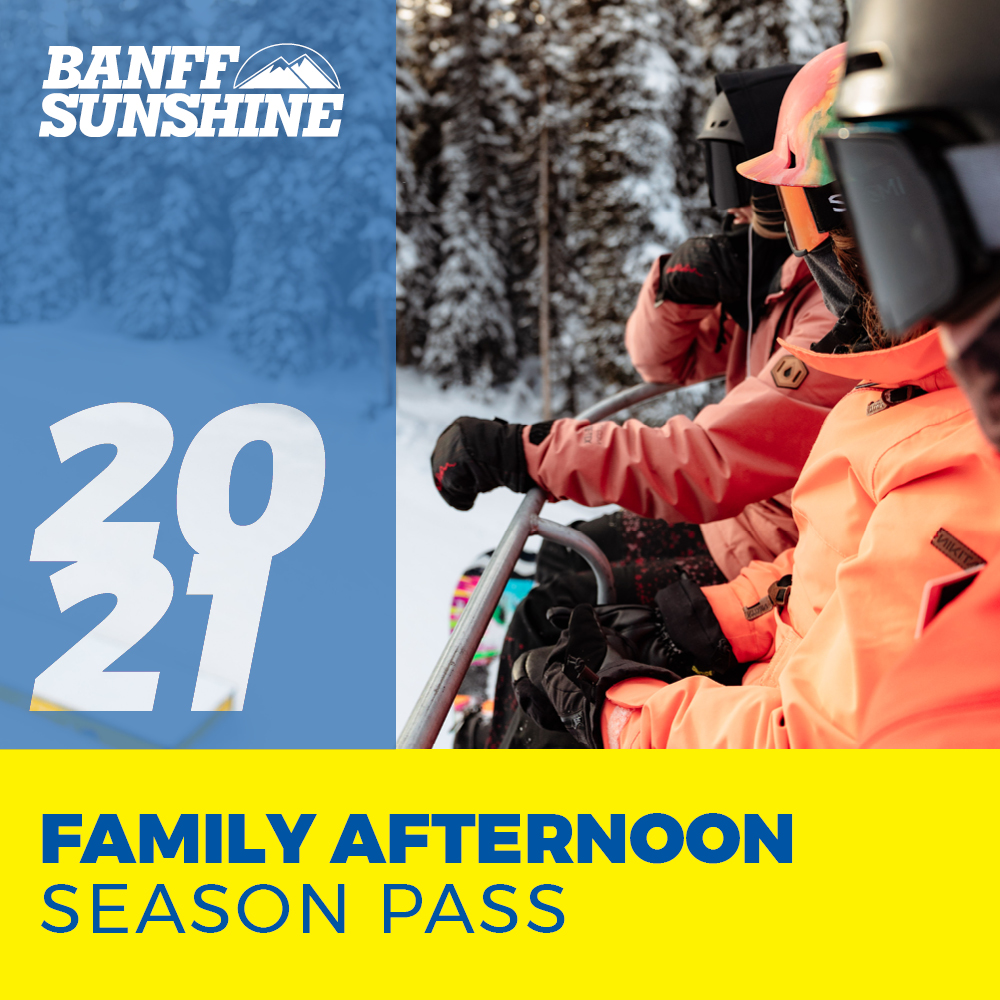 Family Afternoon Season Pass