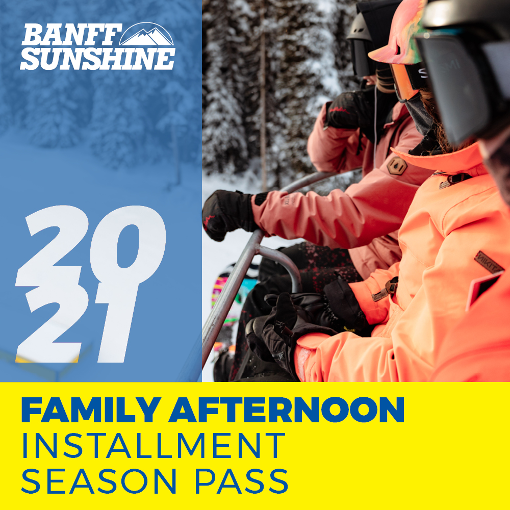 Family Afternoon Installment Season Pass