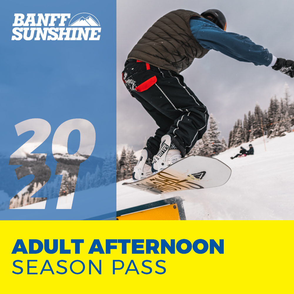 Adult Afternoon Season Pass