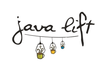 Java lift dark logo